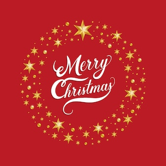 Tarjeta de felicitación o invitación de navidad y año nuevo.
