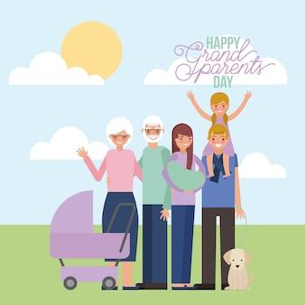 Tarjeta grandparenst day
