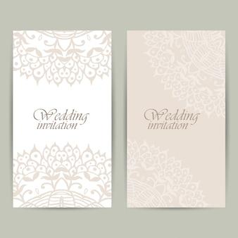 Tarjeta de invitación de boda vertical