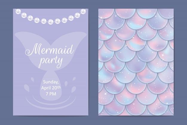 Tarjeta de invitación de fiesta
