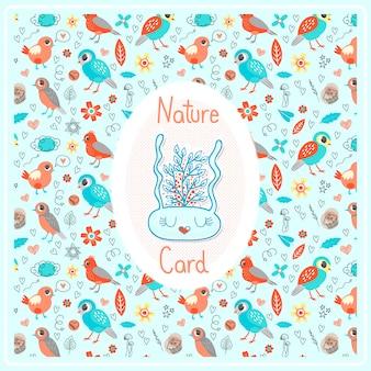 Tarjeta natura