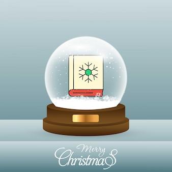 Tarjeta de navidad con creatividad