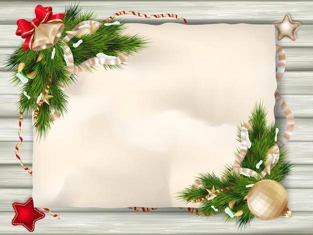 Tarjeta de navidad.