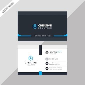 Tarjeta de negocios creativa