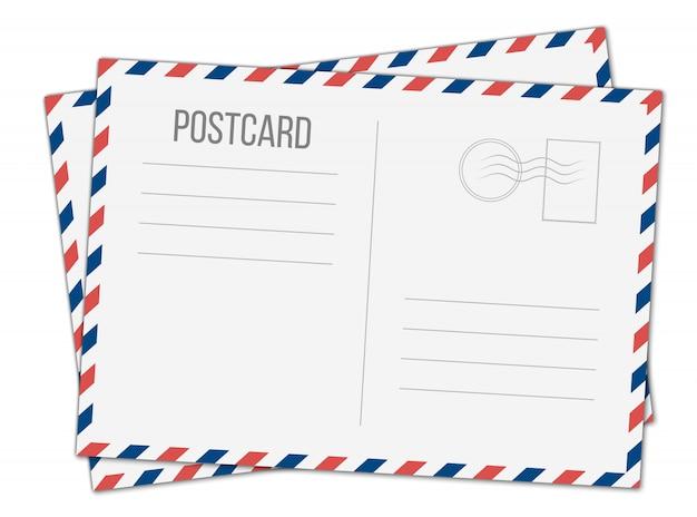 Tarjeta postal, tarjeta de viaje postal