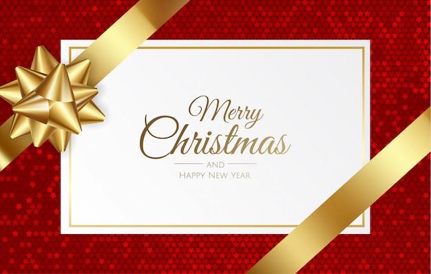 Tarjeta de regalo, cupón, certificado de navidad, año nuevo, cumpleaños.