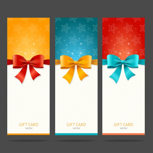 Tarjeta de regalo con juego de lazo.