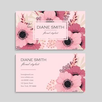 Tarjeta rosa