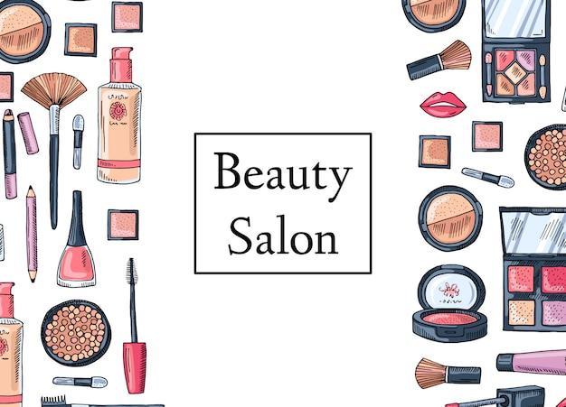 Tarjeta de salón de belleza