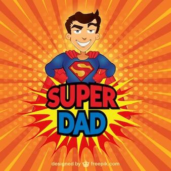 Tarjeta de super papá