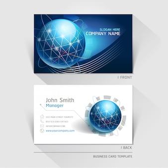 Tarjeta de tecnología de negocios