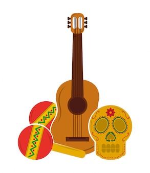 Tarjeta tradicional mexico viva