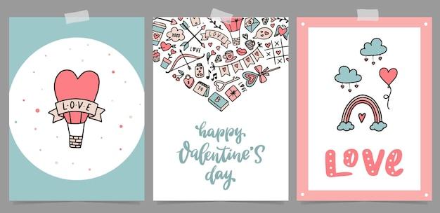 Tarjetas, carteles e impresiones de san valentín