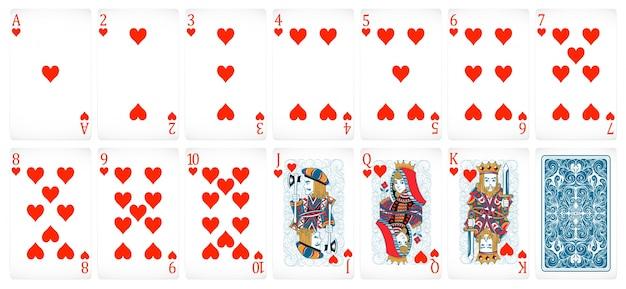 Tarjetas de póquer