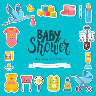 Tarjetas de la semana mundial de la lactancia materna. elementos para niños de flyear, revistas, carteles, portadas de libros, pancartas.