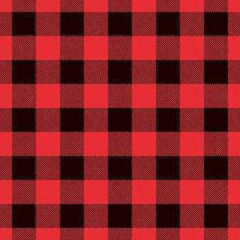 El tartán y el búfalo clásicos comprueban patrones inconsútiles de la tela escocesa.
