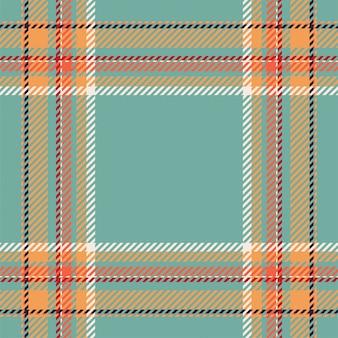 Tartán escocés patrón de cuadros sin fisuras. vintage verificación color cuadrado textura geométrica.