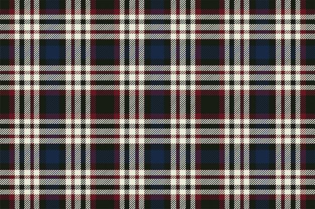 Tartán escocés patrón de cuadros sin fisuras.