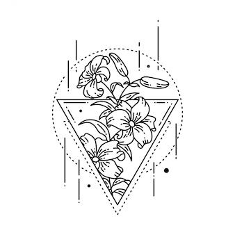 Tatuaje geométrico