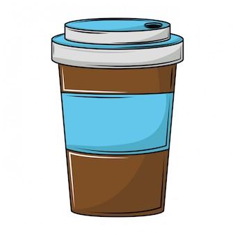 Taza de cafe para ir
