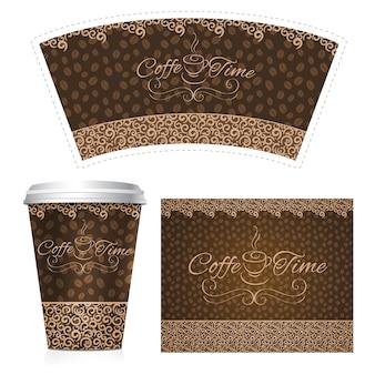 Taza de papel de café
