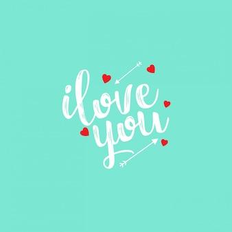 Te amo con fondo claro