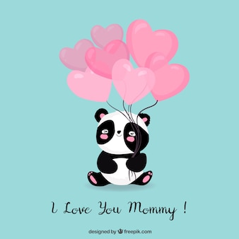 Te amo mamá lindo fondo