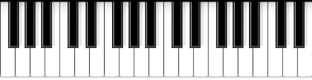 Teclas del piano. fondo de música de concierto de jazz en vivo.