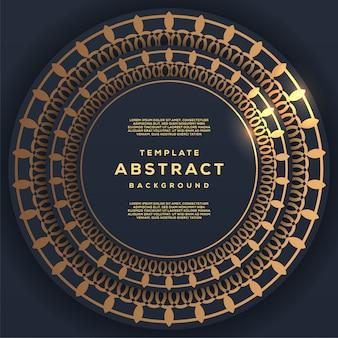 Tecnología abstracta y futurista con fondo geométrico degradado