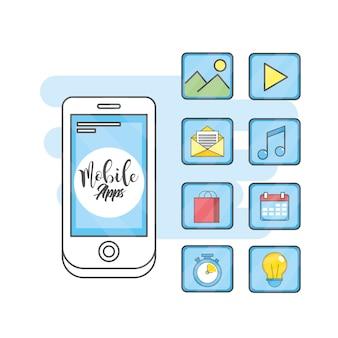 Tecnología de aplicaciones móviles redes sociales