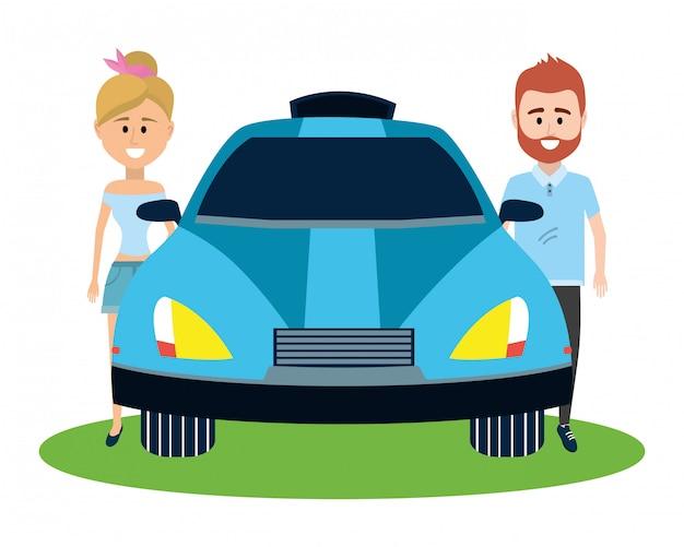 Tecnología del automóvil autónomo.