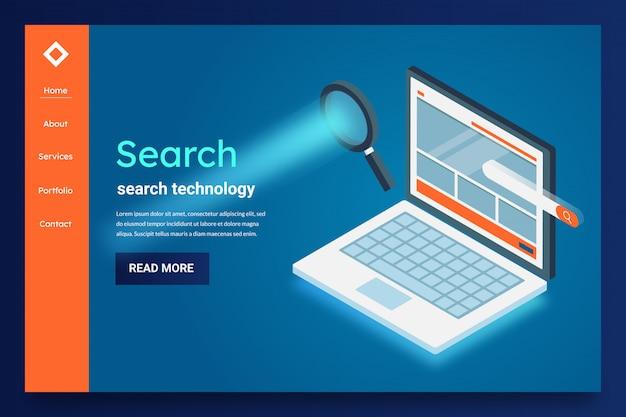 Tecnología de búsqueda