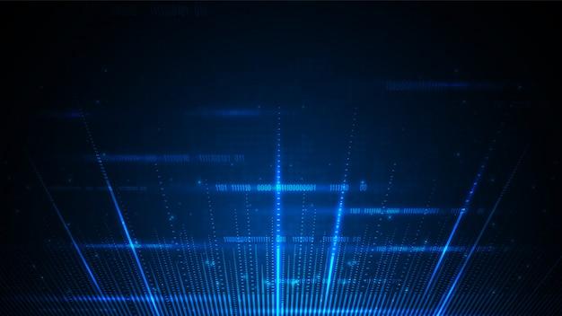 Tecnología de circuito con sistema de conexión de datos digitales de alta tecnología y computadora electrónica