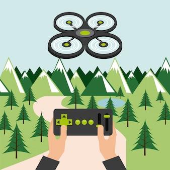 Tecnología de drones