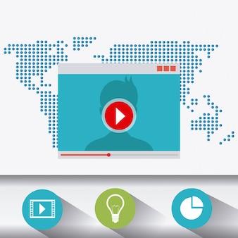 Tecnología, internet y multimedia.