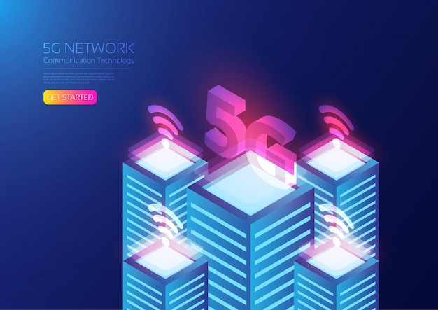 Tecnología isométrica 5g