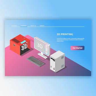 Tecnología isométrica moderna con imágenes en 3d. diseño de ilustración isométrica para digital, computadora moderna, tecnología moderna y mucho más.