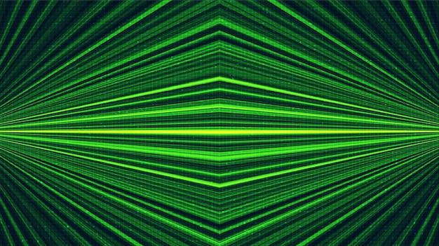 Tecnología láser verde