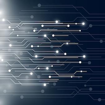Tecnología de placa de circuito de fondo