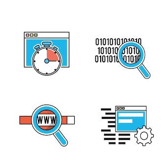 Tecnología de programador de códigos web
