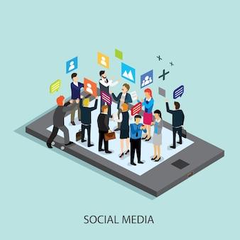 Tecnología de redes sociales de negocios