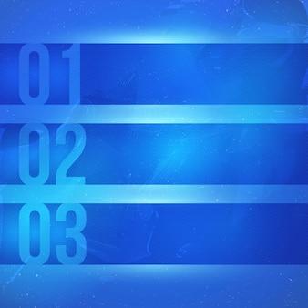 Tecnología resumen vector fondo azul