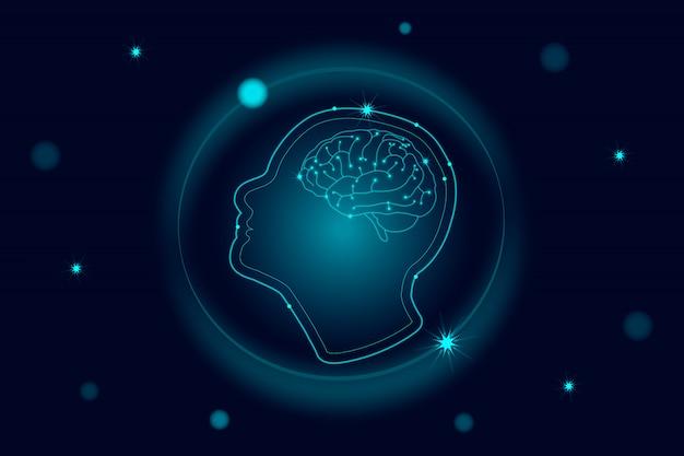Tecnología robótica de inteligencia artificial