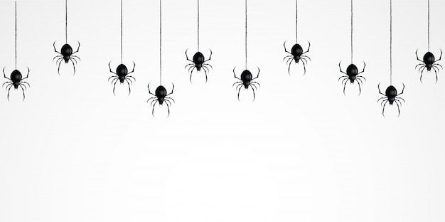 Tela de araña de miedo