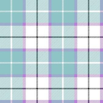 Tela escocesa de tartán azul color bebé de patrones sin fisuras