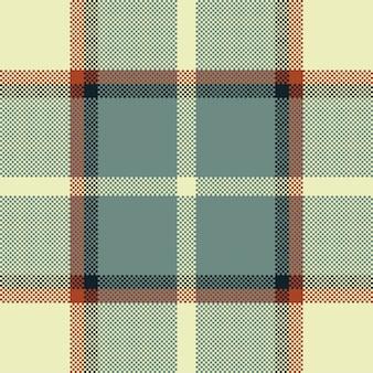 Tela escocesa de tartán de patrones sin fisuras