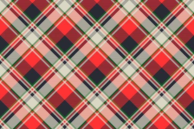 Tela escocesa de tartán textura de patrones sin fisuras