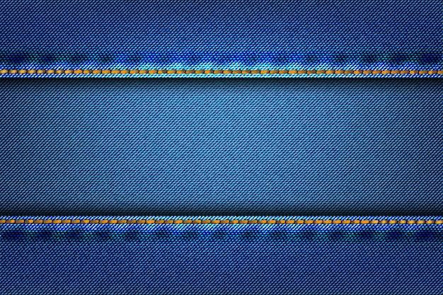 Tela de textura de mezclilla como fondo.