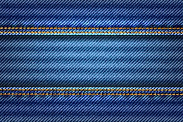 Tela de textura de mezclilla de mezclilla abstracta como fondo.