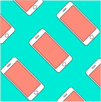 Teléfono inteligente móvil teléfono celular comunicación moderna